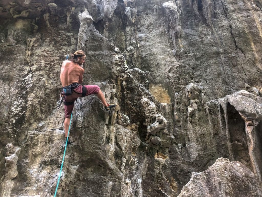 cant-is-badword-butterfly-crag-thakhek-rock-climbing